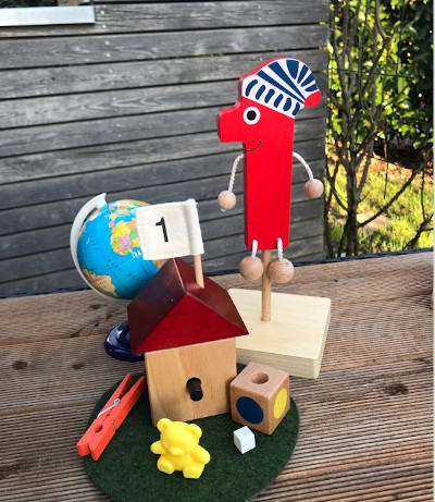 numberland haba wooden numbers puppets houses shapes
