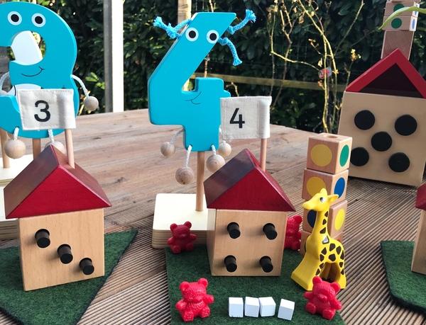 lets visit numberland number puppet number houses numberland shapes