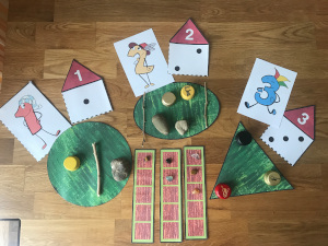numberland number puppets number houses home schooling